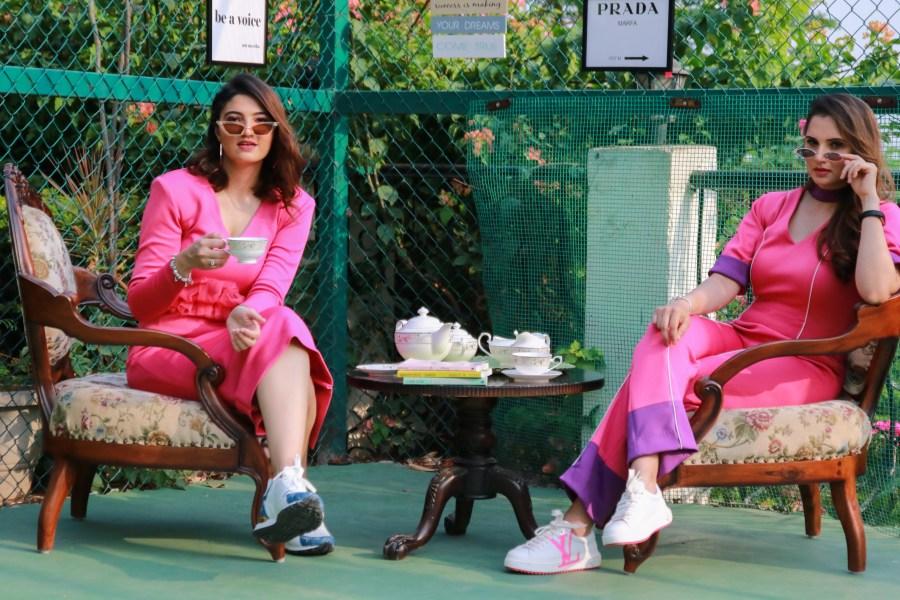 Anam and Sania Mirza
