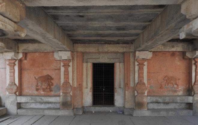 Old Jain temple in Anegundi