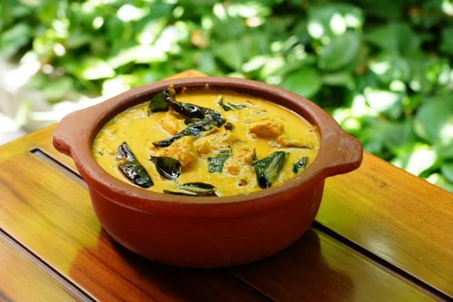 Pacha Manga Meen Curry Chef Uchit Vohra, Executive Chef at ITC Gardenia, Bengaluru