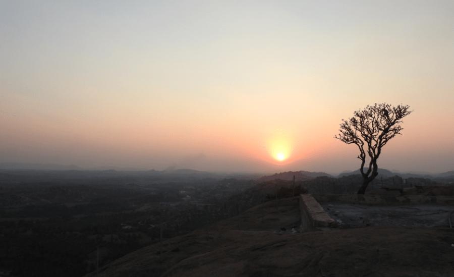 Sunset at Anjanadri