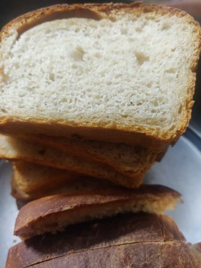 Step 8: the sliced bread