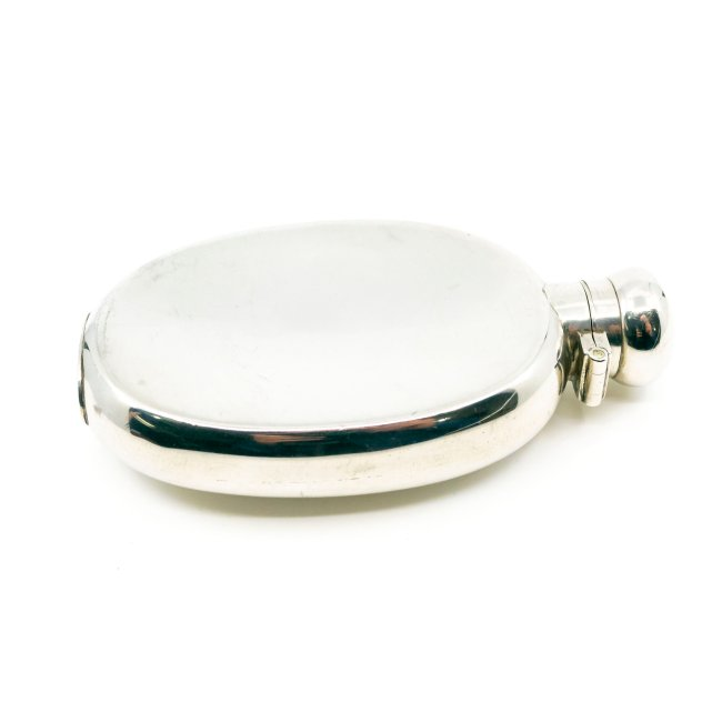 Silver Hip Flask 2646LS Image4