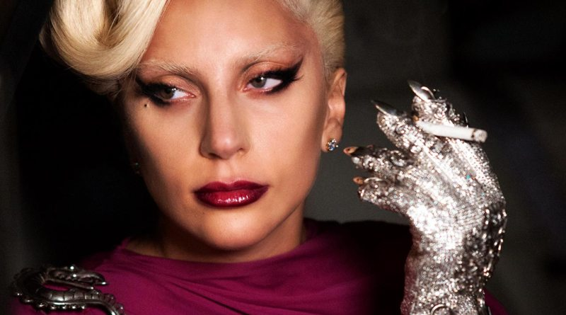 Lady Gaga portrait from American Horror Story - Hotel