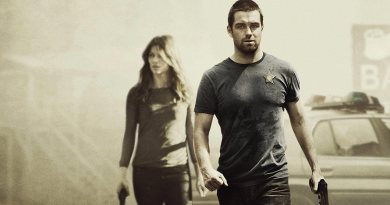 Carrie Hopewell and Sheriff Lucas Hood from Banshee