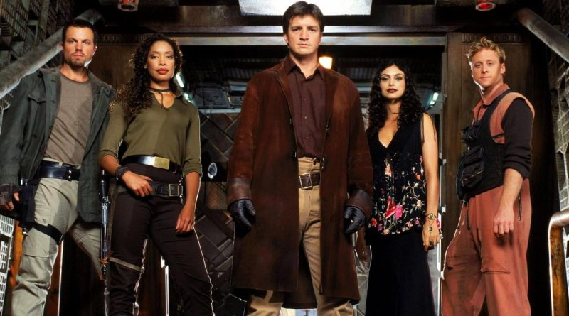 The core crew of the ship Serenity from Firefly