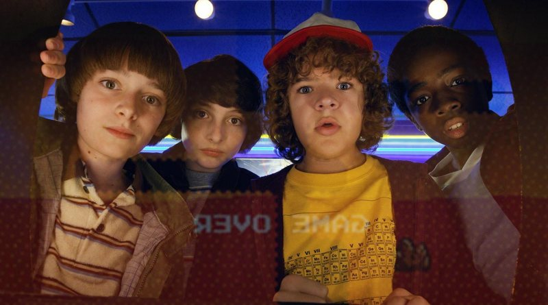 The intrepid kids from Stranger Things