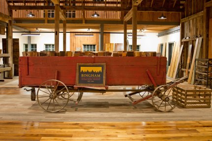 sample wagon in showroom