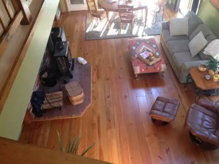 Classic Wide Plank Heart Pine Flooring