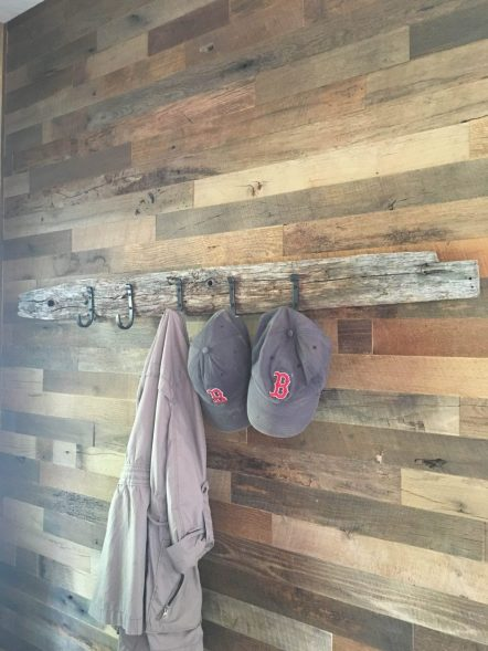Reclaimed Brown Barn Board Paneling in Narrow Widths