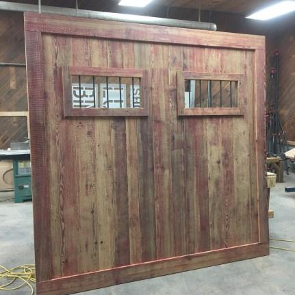 Faded Red Barn Door