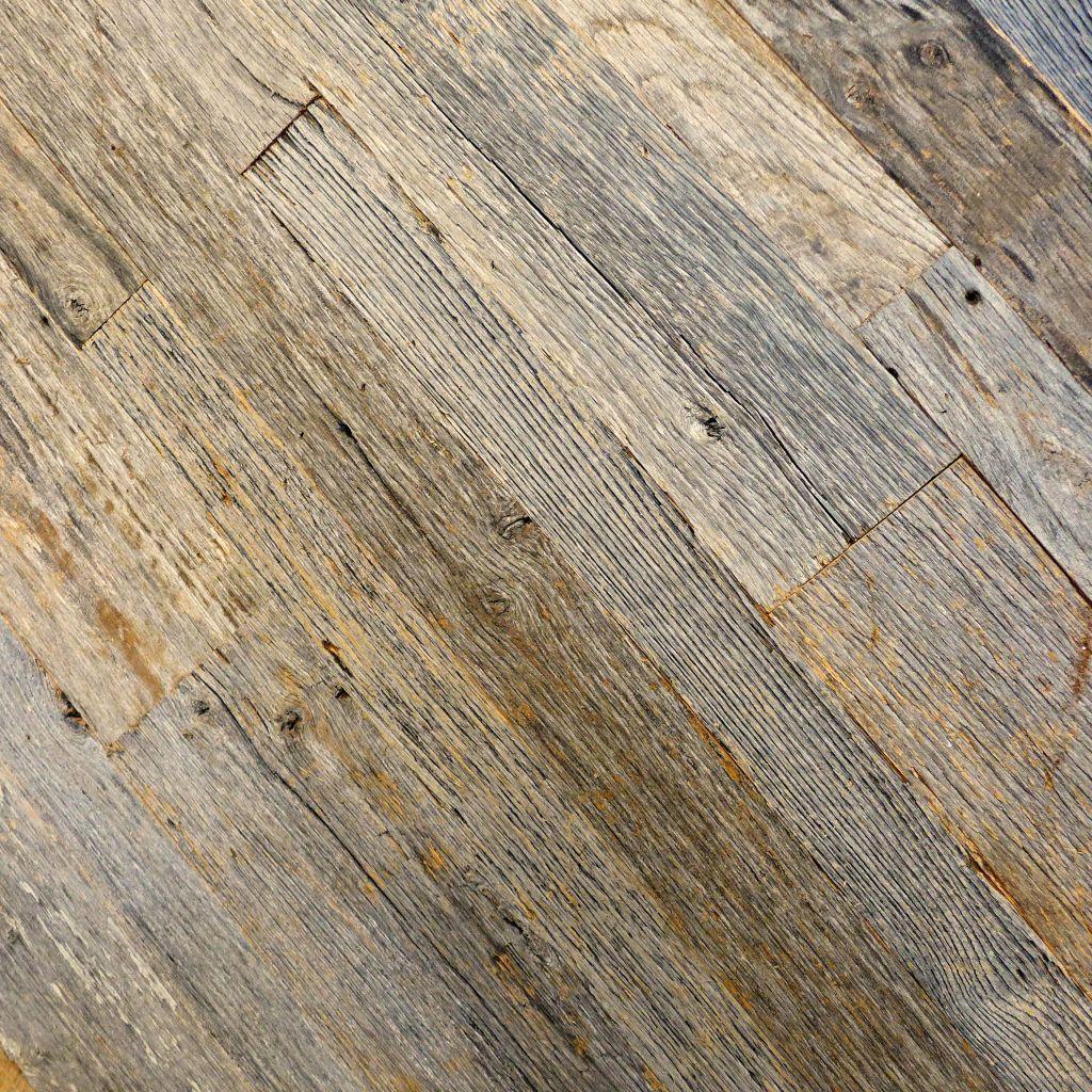 weathered gray reclaimed barn siding
