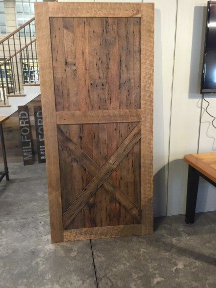Reclaimed Chestnut Barn Door