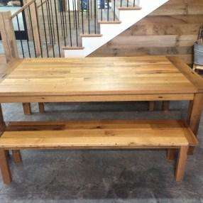 Custom Reclaimed Tables And Islands Bingham Lumber - Farmers table nh