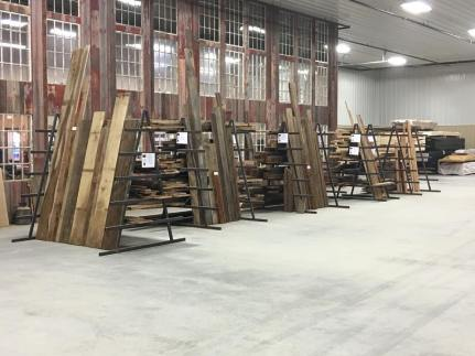 Large inventory of Reclaimed Wood