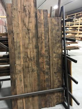 Reclaimed Roofboards are best known for the extreme rustic character and age.