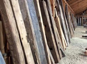 Reclaimed Beams of every Color, specie and texture.