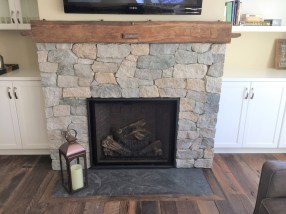 Hand Hewn Beam Mantle