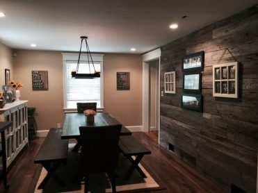 Reclaimed Weathered Grey Rustic Textured Paneling