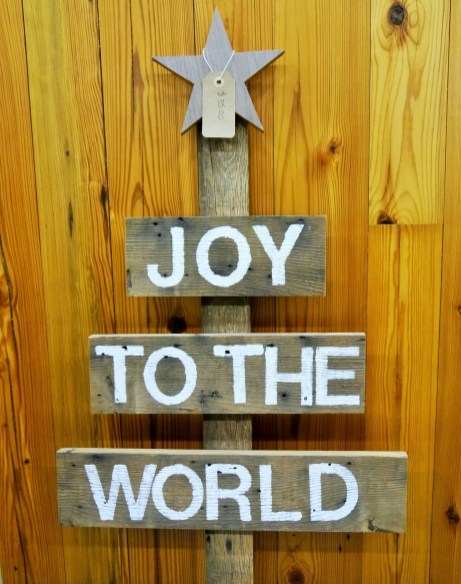 Reclaimed Christmas Tree Sign