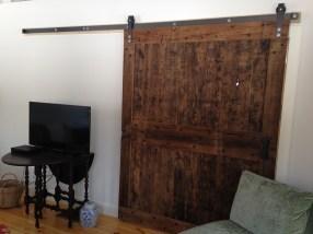 Rustic Reclaimed Sliding Barn Door