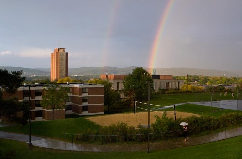 Rainbow Daily Photo Jun 11 2010 Binghamton University