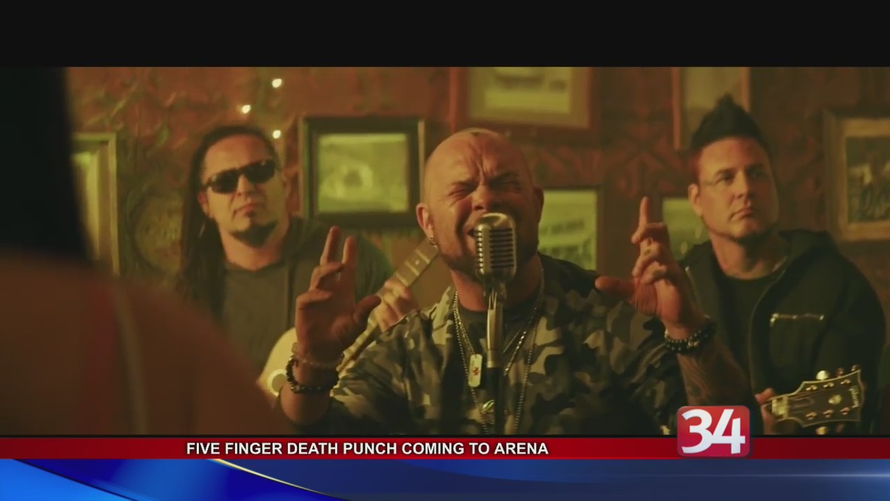 Five Finger Death Punch, this Summer