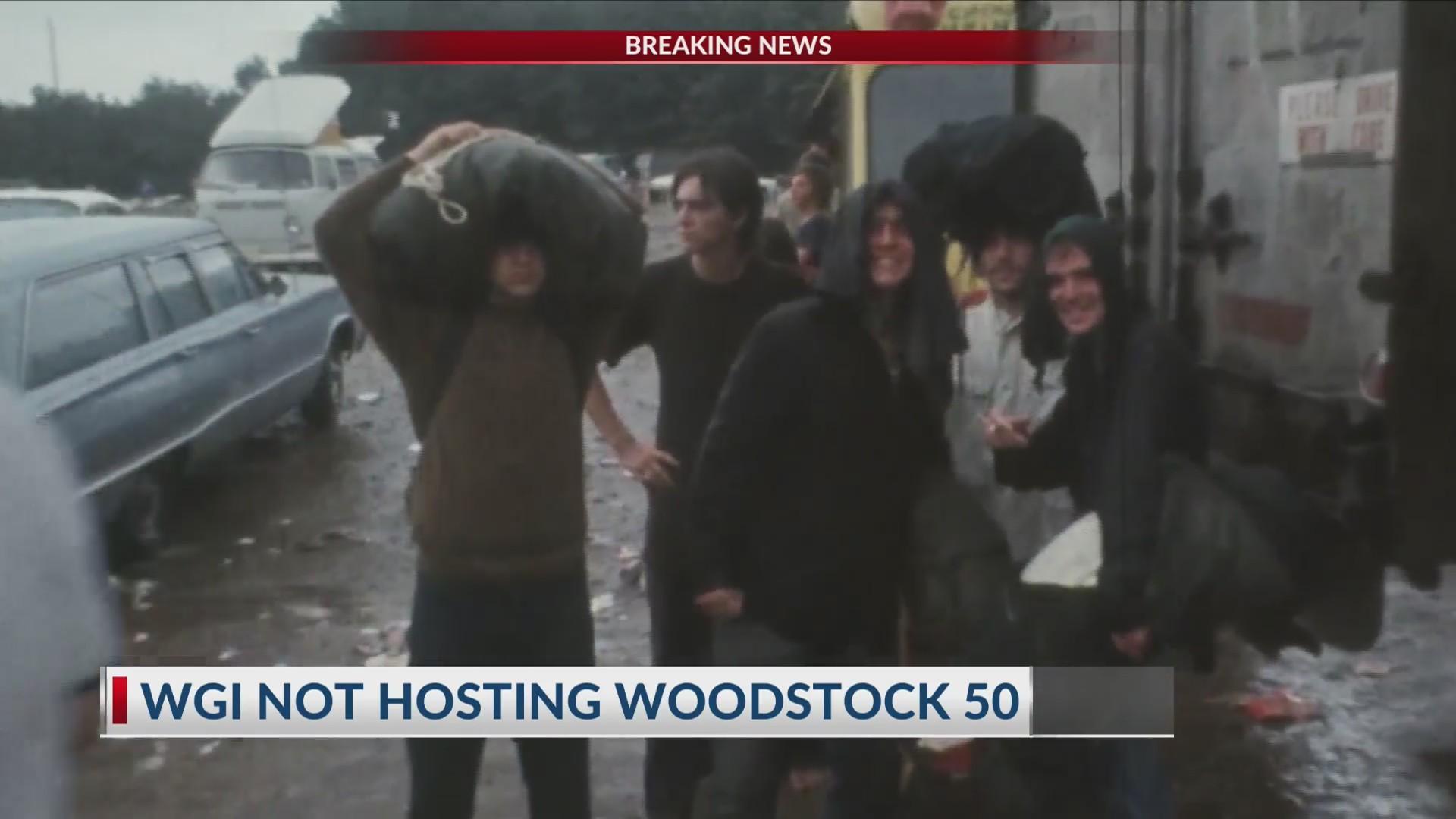 WGI not hosting Woodstock 50
