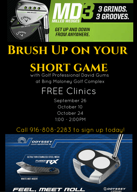 Dave Gums Short Game Clinic