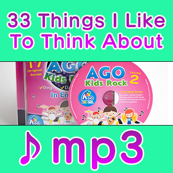 33-Things-I-Like-To-Think-About esl kids song mp3