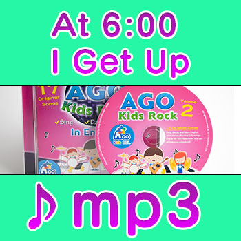 At-6:00-I-Get-Up mp3 download esl song