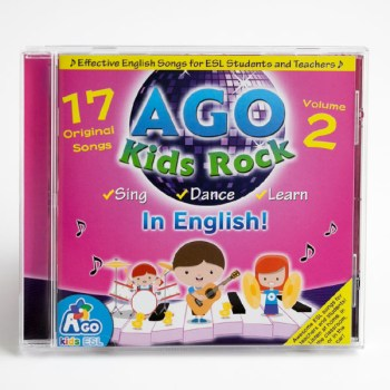 BINGOBONGO Rock Volume 2 ESL Songs and Music CD
