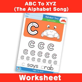 ABC To XYZ (The Alphabet Song) - Lowercase c