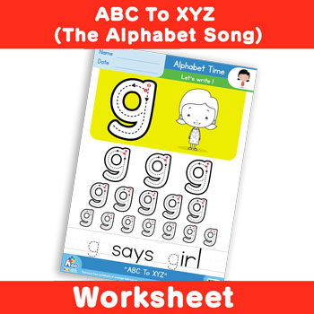 ABC To XYZ (The Alphabet Song) - Lowercase g