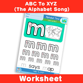 ABC To XYZ (The Alphabet Song) - Lowercase m