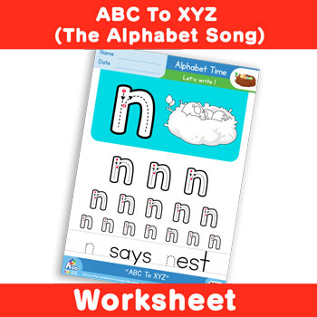 ABC To XYZ (The Alphabet Song) - Lowercase n