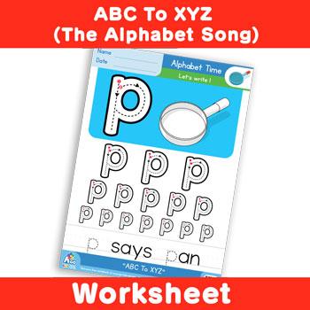 ABC To XYZ (The Alphabet Song) - Lowercase p