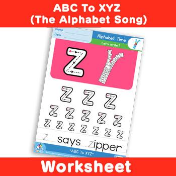 ABC To XYZ (The Alphabet Song) - Lowercase z