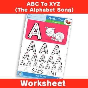 ABC To XYZ (The Alphabet Song) - Uppercase A