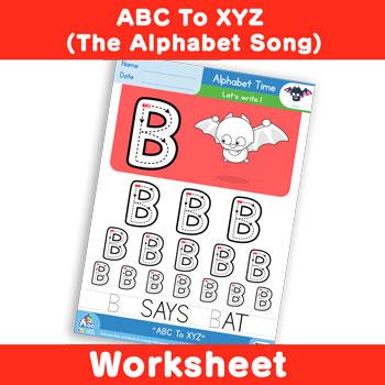 ABC To XYZ (The Alphabet Song) - Uppercase B