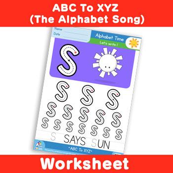 ABC To XYZ (The Alphabet Song) - Uppercase S