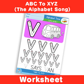 ABC To XYZ (The Alphabet Song) - Uppercase U