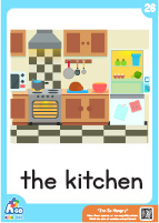 I'm so hungry - the kitchen