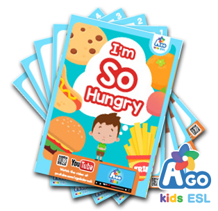 I'm so hungry - food vocabulary - ESL Flashcard Packs