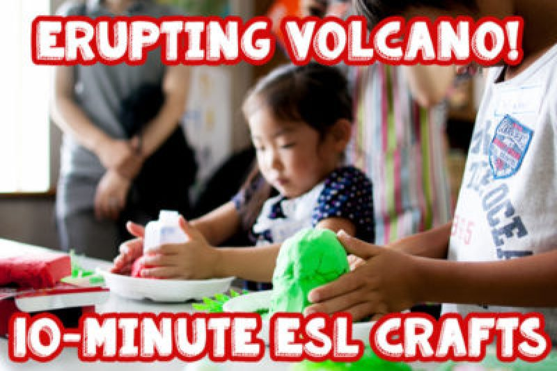make a real erupting volcano in 10 minutes