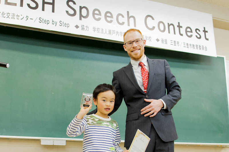 young children like speech contests too