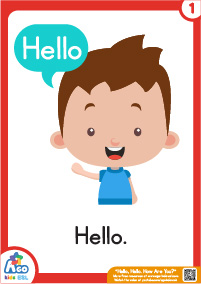 Hello Hello How Are You Flashcards - hello