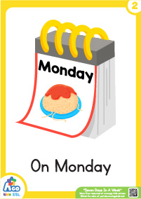 Seven Days In A Week - Monday
