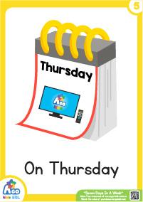 Seven Days In A Week - Thursday