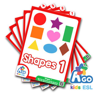 ESL Flashcards Packs - Shapes 1