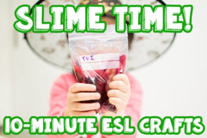super easy slime in a bag instructions